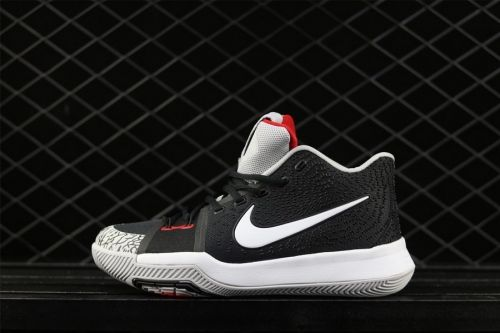 new concept ca2c0 51bc8 Real Nike Kyrie 3 Black Elephant Print - Mysecretshoes
