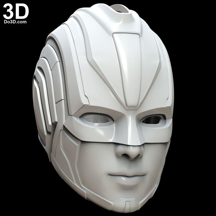 3D Printable Model: Captain Marvel 2019