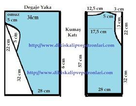 fa59a0f6a3cab Dikiş Kalıpları ve Patronları: PRATIK BLUZ, TUNIK, T-SHIRT KALIPLARI