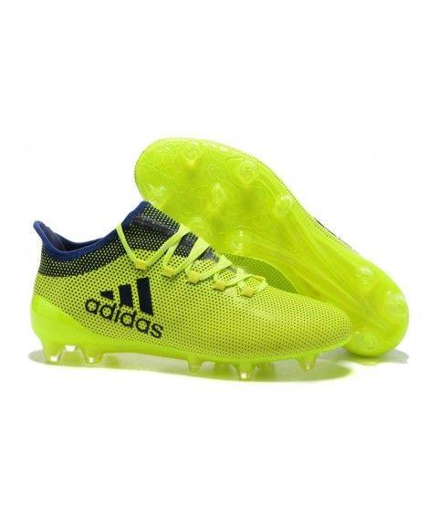 uk availability 76f89 3b44c Adidas X 17.1 FG PEVNÝ POVRCH tpu žlutý černá modrý kopačky