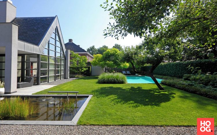 Stoop tuinen moderne tuinarchitectuur in luxe tuin hoo
