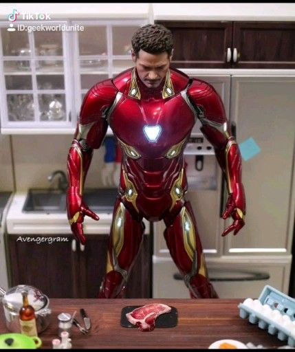 When Iron Man attempted cooking 😂