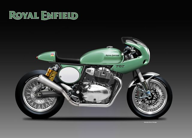 Royal Enfield 707 cc Gentleman cafe Racer by Oberdan bezzi #royalenfield #modifiedroyalenfield #royalenfieldcaferacer #royalenfieldbullet