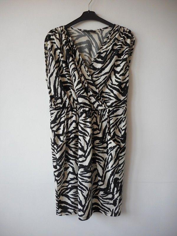 59629a6da7 44 - sukienka Dorothy Perkins wzorek kieszenie - vinted.pl