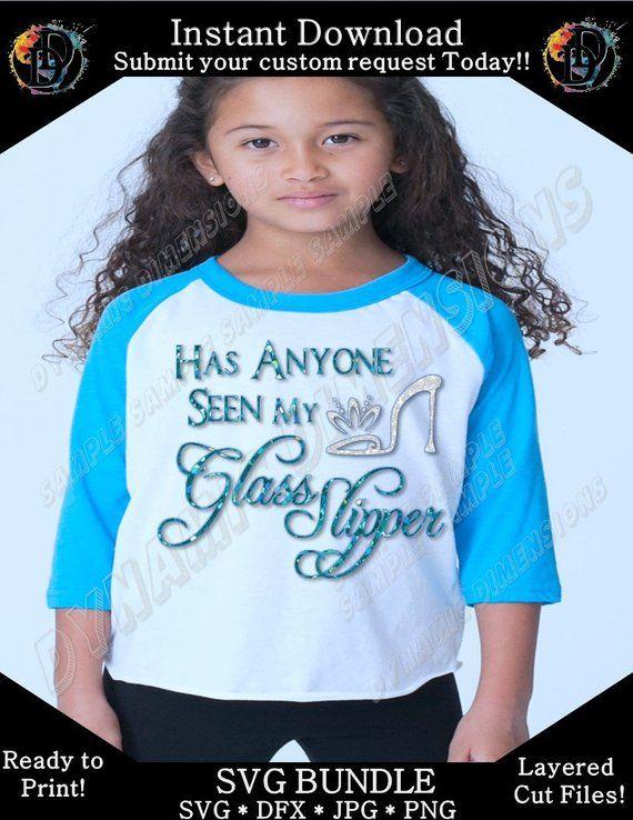 a86c353f Has Anyone Seen My Glass Slipper SVG Decal Cutting File - Cinderella Fairy  Tale Princess, Cricut Explore, Silhouette Cameo, Cutting Machines
