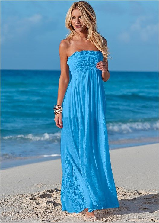 560765d61b LACE DETAILED MAXI DRESS, EVERYDAY YOU STRAPLESS BRA