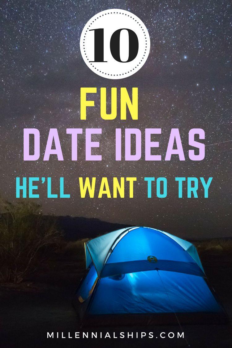 10 fun date ideas he'll love