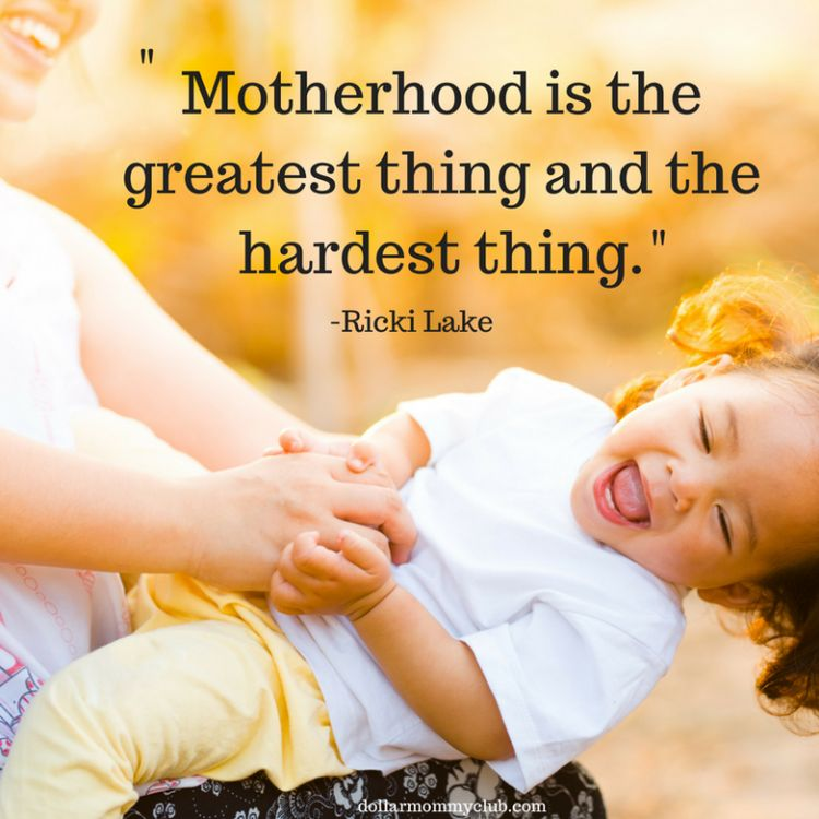 19 Inspirational Quotes For First Time Moms