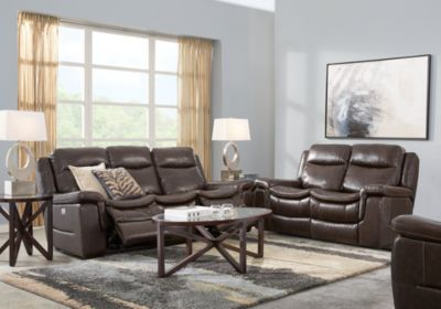 Marvelous Milano Brown 3 Pc Leather Living Room With Reclining Sofa Gmtry Best Dining Table And Chair Ideas Images Gmtryco