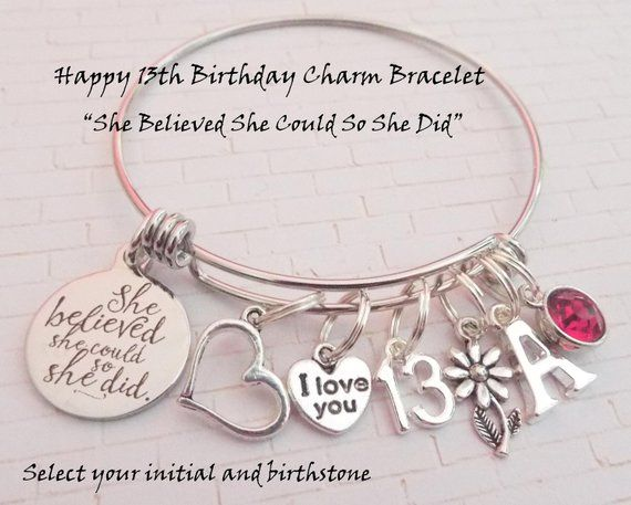 13th Birthday Girl Birthday Gift For 13 Year Old Girl Da