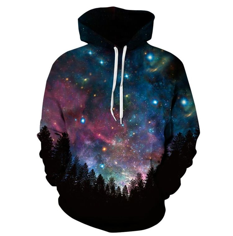 27f95e9222ae New Fashion Space Galaxy Sweatshirt Hoodies 3D Print Hip Hop Coats Casual  Sweatshirt Sportwear Tops