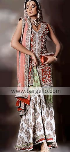 99fbb5d7aa Pakistani bridal wears, wedding dresses by Top designers of latest pakistan  fashion online shopping