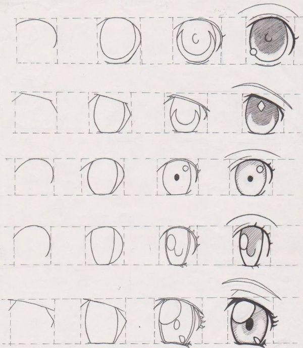 Como desenhar um olho: 25 melhores tutoriais para seguir