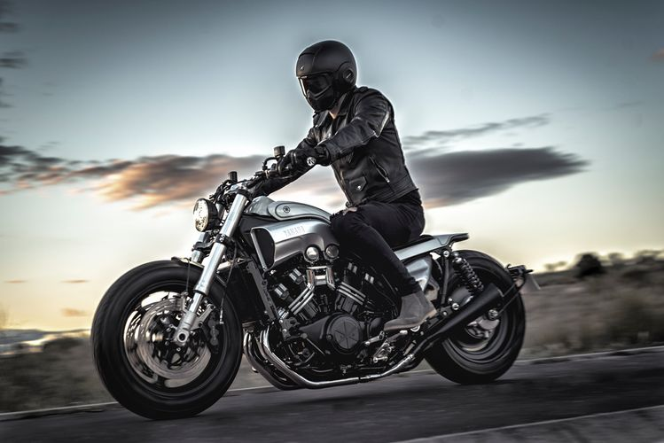 """W-Max"": Yamaha V-Max Restomod by Nitro Cycles"