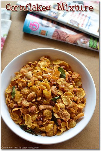 Cornflakes Mixture Recipe - Spicy Chivda