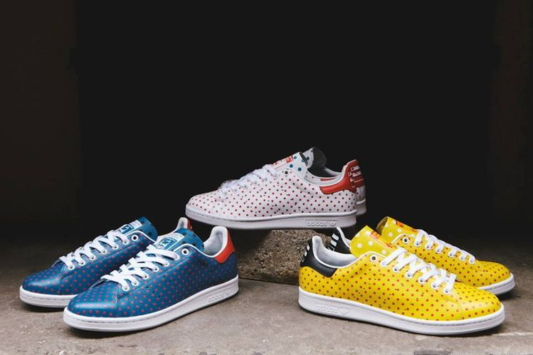 brand new c045e 17262 Adidas Originals Stan Smith x Pharrell Williams  Polka Dots  (2014)