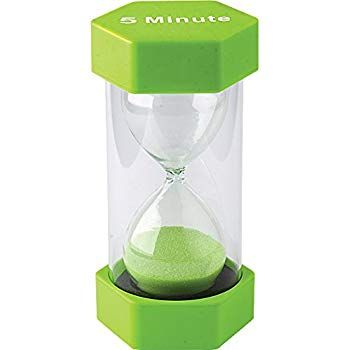 Amazon com: Sand timer hour glass for kids, teachers, thera