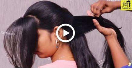 Novos penteados de convidados de casamento para cabelos longos ||  Penteados de casamento mais recentes 2018 |  Penteado