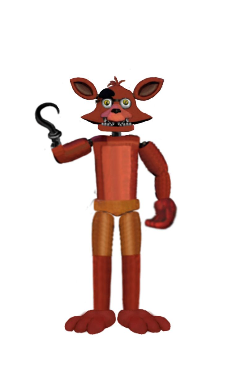 Unwithered foxy fnaf 2 jaw closed