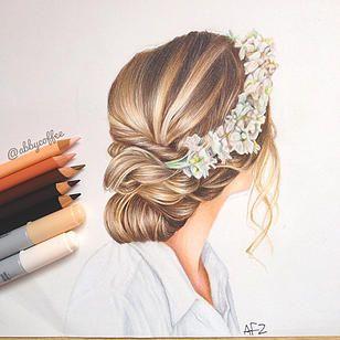 Schone Frisur Zeichnen