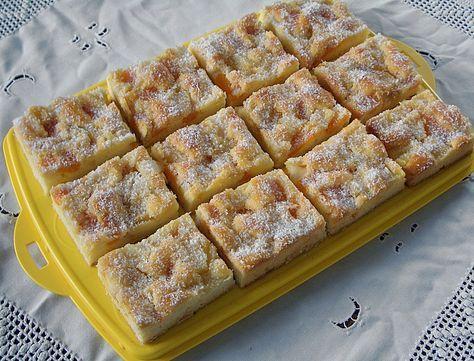 Erfrischender Ananas Mandarine Blechkuchen Ein Sehr Le