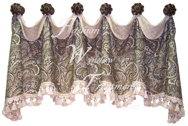 Curtain Knobs For Hanging Curtains Cuff Top Valance With