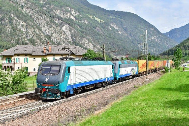 """Adtranz 7432 - Trenitalia """"E 412 017"""""""
