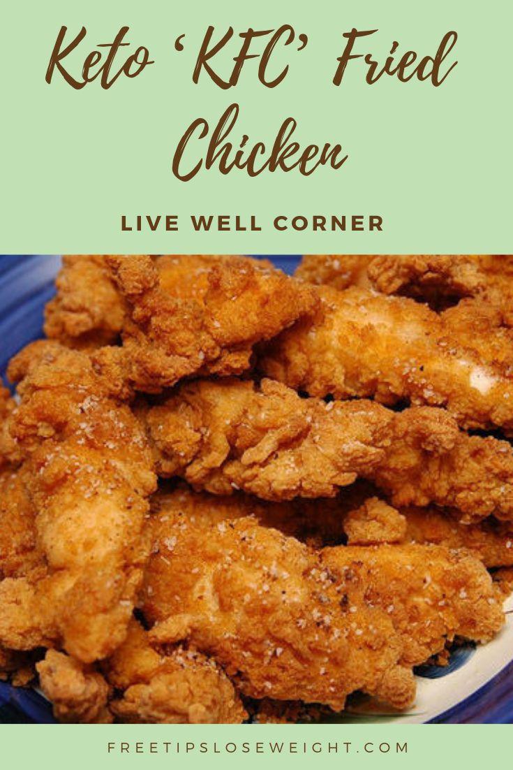 Keto 'KFC Style' Fried Chicken Recipe