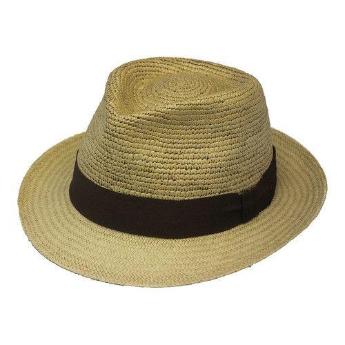 d3e39408a0fb31 Henschel Trilby 3159 Straw Hat - Khaki Hats