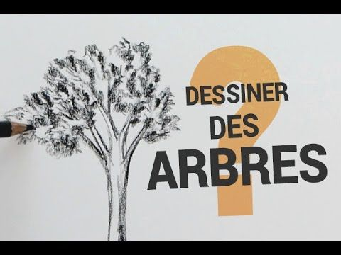 DESSINER DES ARBRES LE PLUS SIMPLEMENT POSSIBLE - YouTube