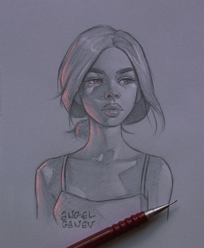 Artista búlgaro faz ilustrações incríveis que brilham por dentro