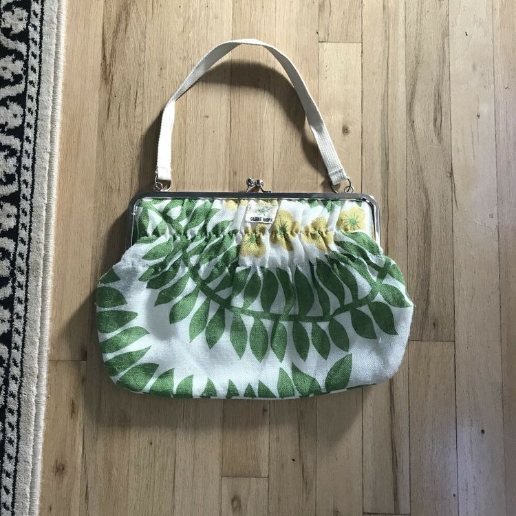 4955ea4957 Petty Shoulder Bag Botanical Print Linen Cotton  fashion  clothing  shoes   accessories  womensbagshandbags (ebay link)
