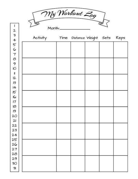 picture relating to Workout Tracker Printable called Bullet Magazine Training Log, Physical fitness Tracker, Bujo Printabl