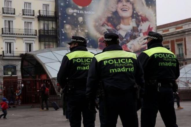 Spanish police uniform