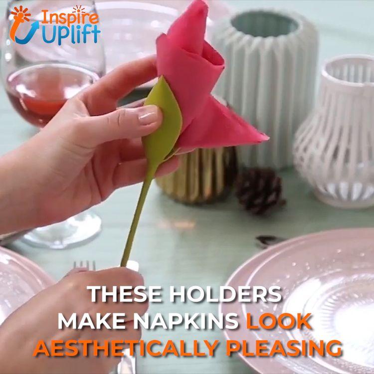 Flower Napkin Holders 😍