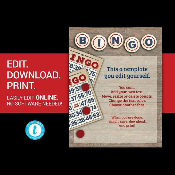 editable bingo flyer bingo night flyer bingo fundraiser bi