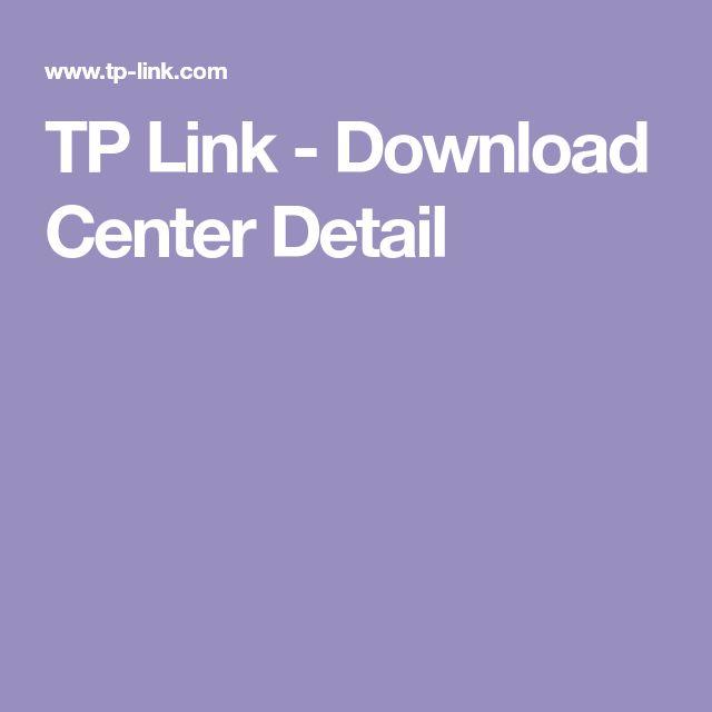 TP Link - Download Center Detail
