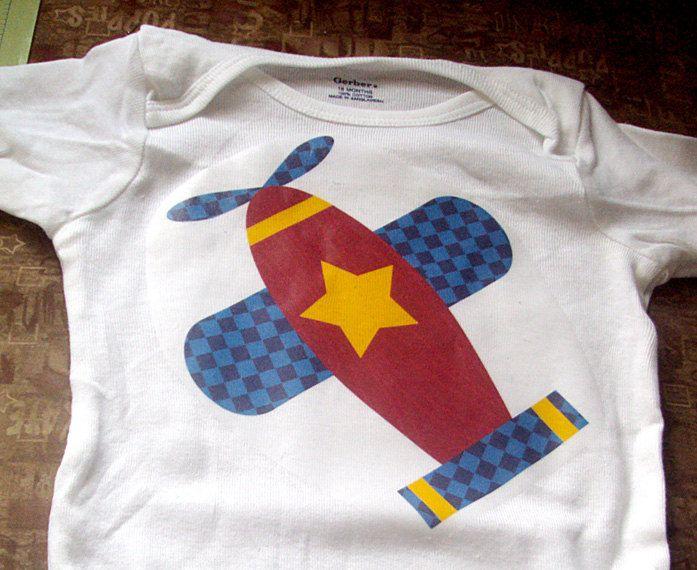 e92819fe75061 Airplane Iron on Transfer - Kids Iron on Shirt PDF / Airpla