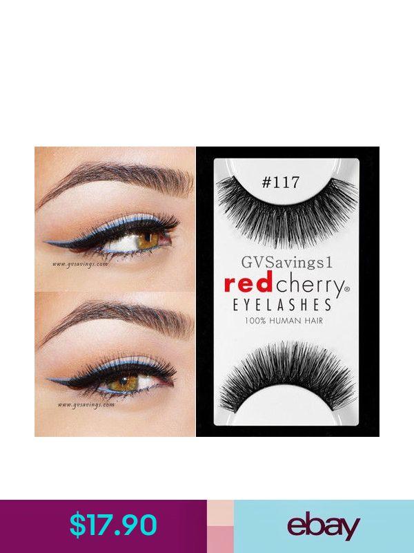 eb4c9264928 Red Cherry False Eyelashes & Adhesives #ebay #Health & Beauty