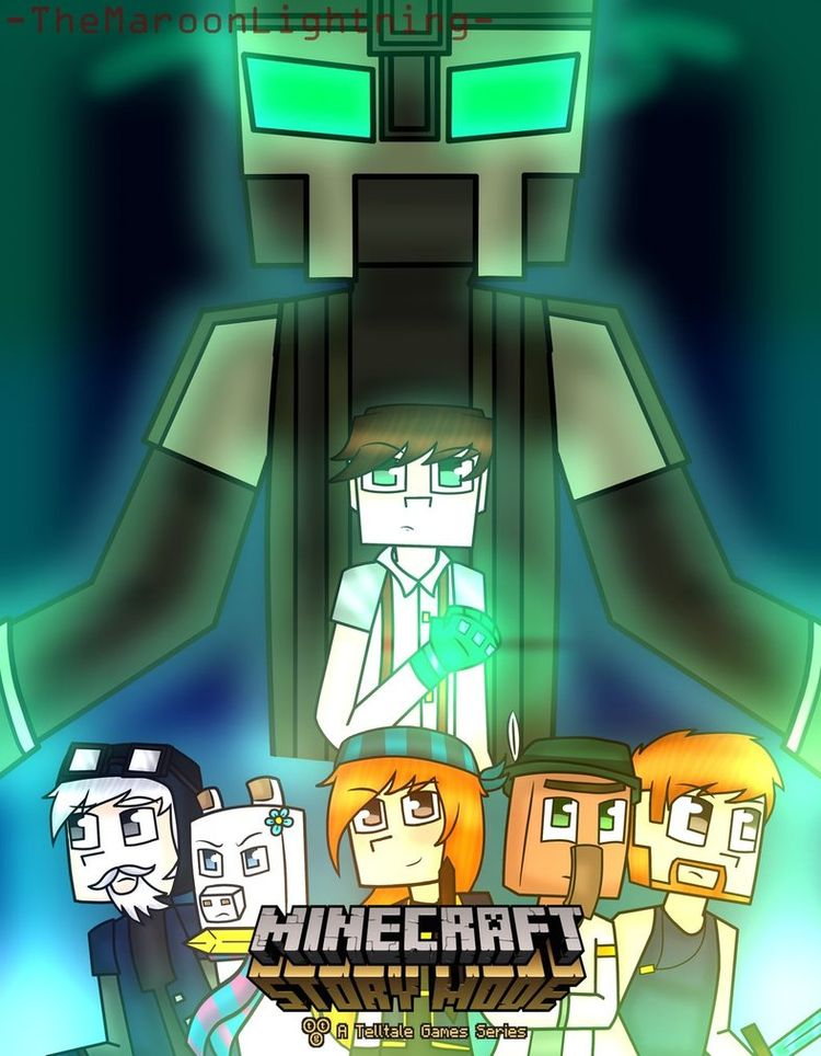 Minecraft Story Mode : Season 2 by TheMaroonLightning