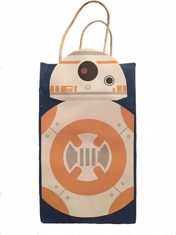 Star Wars BB8 Party Favor Bag Printable By GalacticParty