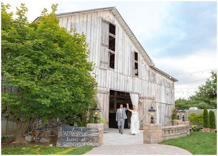 Wedding At The Barn Springhouse Gardens In Lexington Kentucky Southern