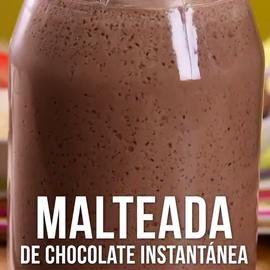 Video de Malteada de Chocolate Instantánea