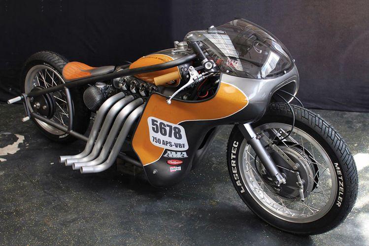 the nimbus type C 'odin's fury' custom landspeed racer by gonzo motorcycles  www.designboom.com