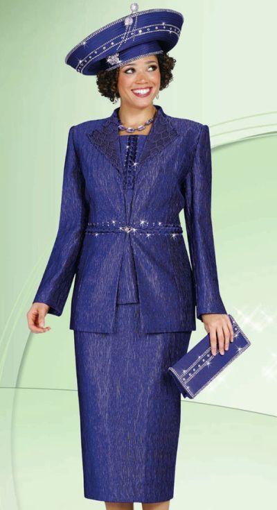 dbef1053c22 Plus Size Womens Church Suits BenMarc International 3pc Suit 4430
