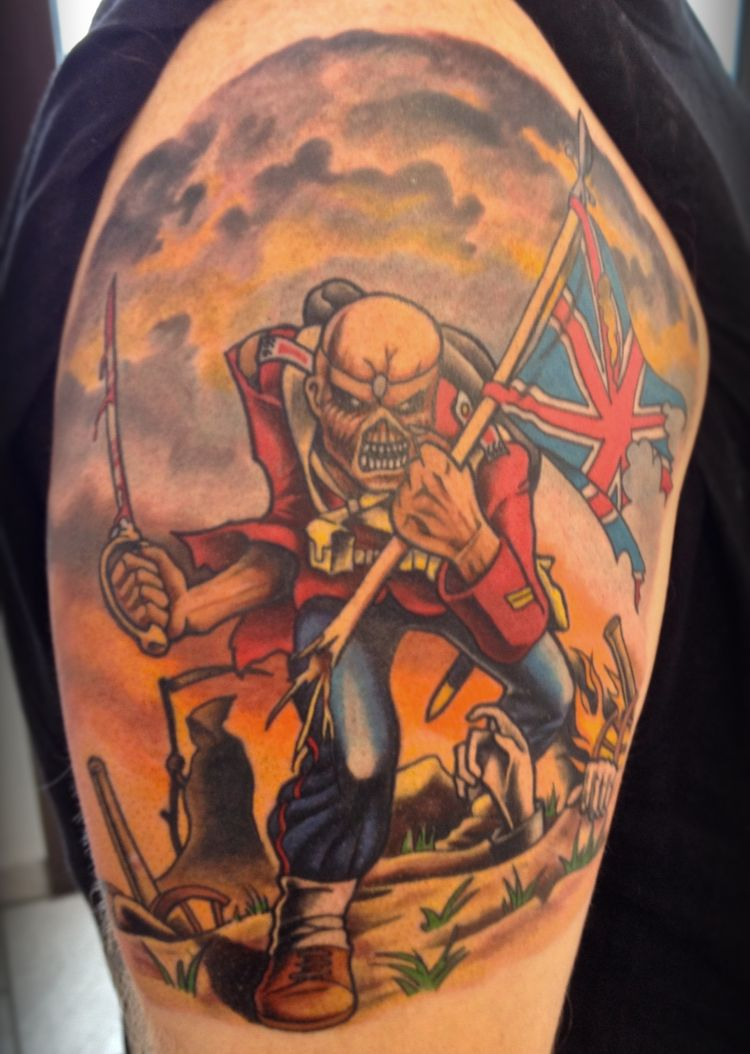The Trooper Iron Maiden