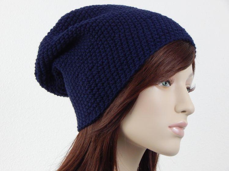 a5466af849b Womens Crochet Hat Slouch Beanie Teen Fall Winter Hats Womens