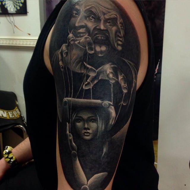 16 tatuagens inventivas do mestre do fantoche