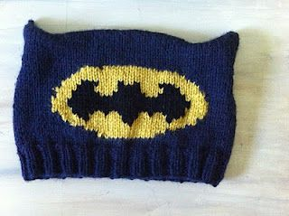 a50ede5bb5bd54 Batman Knitted Hat by magic pixie knitter pattern is on Ravelry