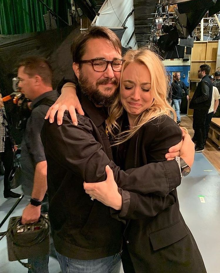 "The Big Bang Theory⚛️ on Instagram: ""Kaley and Wil😢 #bigbangtheory"""